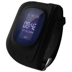 Smartklocka för Barn med GPS - Svart Svart