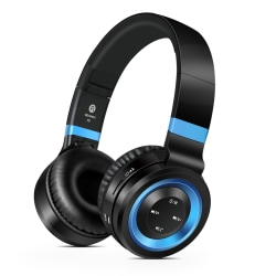 Sound Intone P6 - Trådlösa Hörlurar med HD Mikrofon Blå