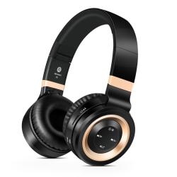 Sound Intone P6 - Trådlösa Hörlurar med HD Mikrofon Guld