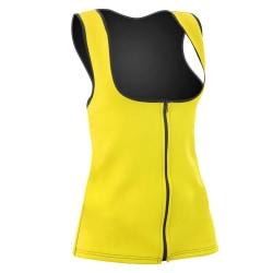 Sportväst med Bastueffekt - Dam Yellow M