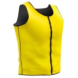 Sportväst med Bastueffekt, Herr - Storlek XL Yellow XL