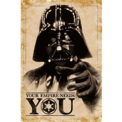 Star Wars, Maxi Poster - Your Empire Needs You Brun