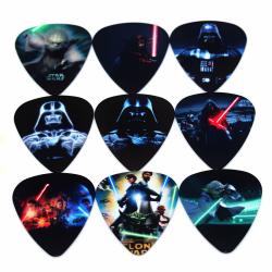 Star Wars Plektrum i 10-pack - Gitarrtillbehör multifärg