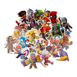 Storpack Klistermärken och Dekaler - Marvel multifärg