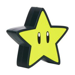 Super Mario, Lampa med Ljud - Super Star Gul