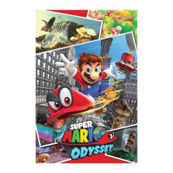 Super Mario Odyssey, Maxi Poster - Kollage multifärg
