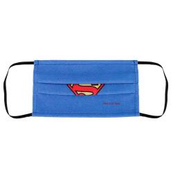 Superman, Andningsmask med 2 Lager - 3-7 år Blå