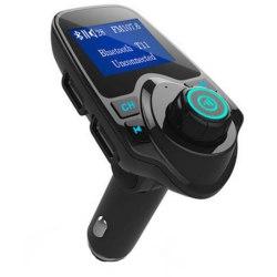 T11 FM-sändare/MP3-spelare med Bluetooth för bil Svart