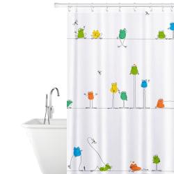 Tatkraft, Funny Frogs - Duschdraperi i Polyester multifärg