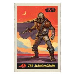 The Mandalorian, Maxi Poster - Din Djarin multifärg