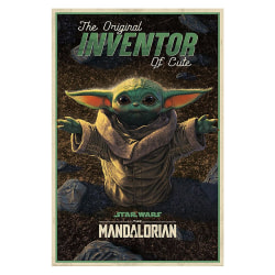 The Mandalorian, Maxi Poster - Inventor of Cute multifärg