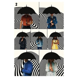 The Umbrella Academy, Maxi Poster - Family multifärg