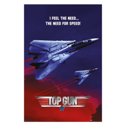 Top Gun, Maxi Poster - The Need For Speed multifärg