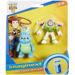 Toy Story 4 Figurer - Bunny och Buzz Lightyear multifärg