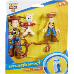 Toy Story 4 Figurer - Forky och Woody multifärg