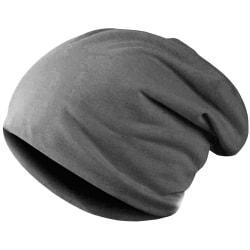 Tunn Mössa i säckig stil - Grå grå one size