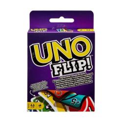 UNO FLIP, Kortspel - Sällskapsspel multifärg