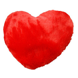Värmekudde - Hjärta Röd