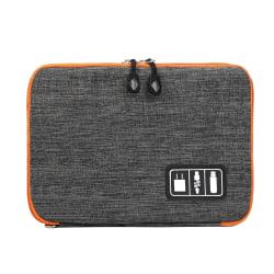 Väska för förvaring av Kablar och Elektroniktillbehör - Grå grå