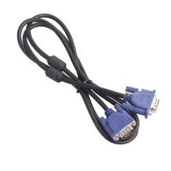 VGA-kabel, 1.5 m Svart