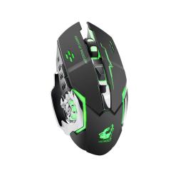 X8 Trådlös 2,4GHz Gamingmus med LED Belysning Svart