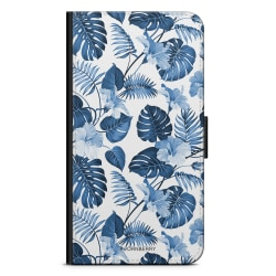 Bjornberry Fodral Huawei Honor 8 Lite - Blå Blommor