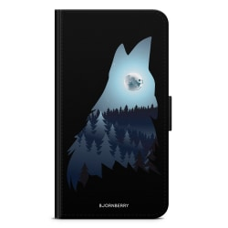Bjornberry Fodral Huawei P Smart (2018) - Forest Wolf