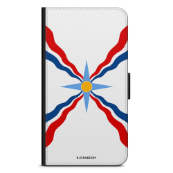 Bjornberry Fodral iPhone 12 Pro Max - Assyriska flaggan