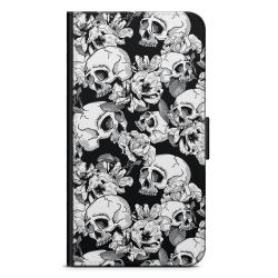 Bjornberry Fodral iPhone 6 Plus/6s Plus - Dödskallar & Rosor