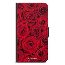 Bjornberry Fodral iPhone SE (2020) - Röda Rosor