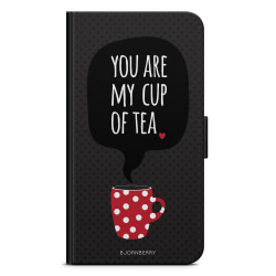 Bjornberry Fodral Motorola Moto G6 Plus - You Are My Cup Of