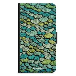 Bjornberry Fodral Samsung Galaxy A21s - Grön Sjöjungfrufjäll