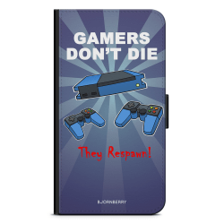 Bjornberry Fodral Samsung Galaxy A41 - Gamers Dont Die