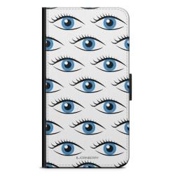 Bjornberry Fodral Samsung Galaxy A6 (2018)- Blå Ögon