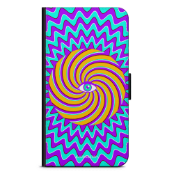 Bjornberry Fodral Samsung Galaxy A6+ (2018)-Färgglad Hypnotisk