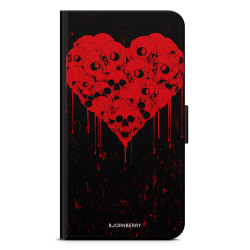 Bjornberry Fodral Samsung Galaxy A6+ (2018)-Skull Heart