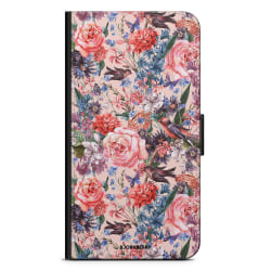 Bjornberry Fodral Samsung Galaxy A7 (2018)- Fåglar & Blommor