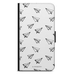 Bjornberry Fodral Samsung Galaxy A7 (2018)- Pappersflygplan