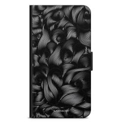 Bjornberry Fodral Samsung Galaxy J5 (2017)- Svarta Vågor