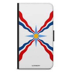 Bjornberry Fodral Samsung Galaxy J6 - Assyriska flaggan