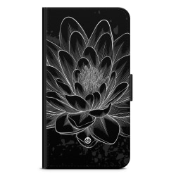 Bjornberry Fodral Samsung Galaxy Note 10 - Svart/Vit Lotus