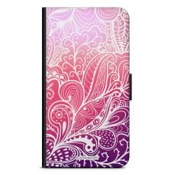 Bjornberry Fodral Samsung Galaxy Note 4 - Färgglada Blommor