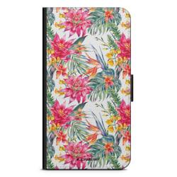 Bjornberry Fodral Samsung Galaxy S5 mini - Exotiska Blommor