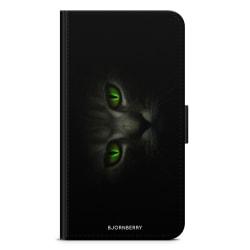 Bjornberry Fodral Samsung Galaxy S5/S5 Neo- Gröna Kattögon