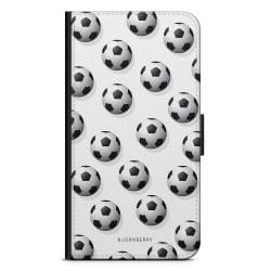 Bjornberry Fodral Samsung Galaxy S6 Edge+ - Fotbolls Mönster