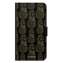 Bjornberry Fodral Samsung Galaxy S9 Plus - Guldiga Ananas