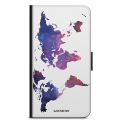 Bjornberry Fodral Sony Xperia XZ / XZs - Världkarta Rymd