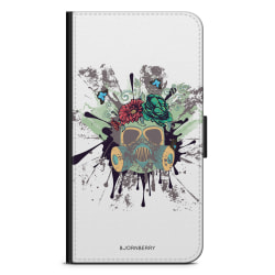 Bjornberry Fodral Sony Xperia Z5 Compact - Gas Mask Blommor