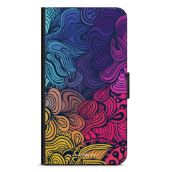 Bjornberry Fodral Sony Xperia Z5 Compact - Retro Blommor