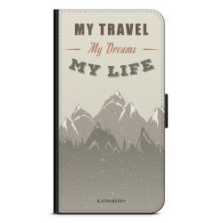 Bjornberry Fodral Sony Xperia Z5 Premium - My Travels, My Life